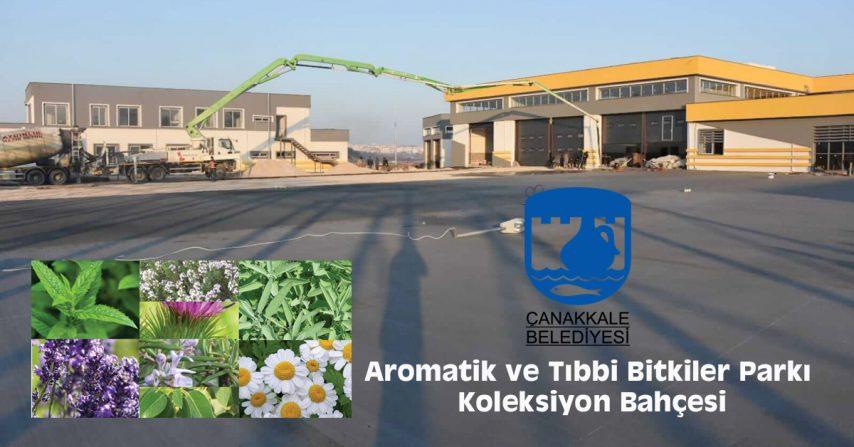Aromatik ve Tıbbi Bitkiler Parkı – Koleksiyon Bahçesi