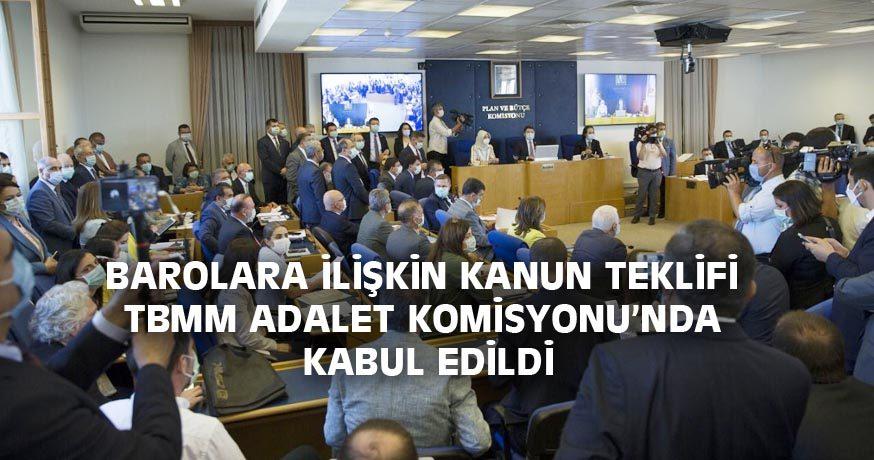 ÇOKLU BARO DÜZENLEMESİ KABUL EDİLDİ