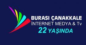 BURASI ÇANAKKALE İNTERNET MEDYA & Tv   22 YAŞINDA
