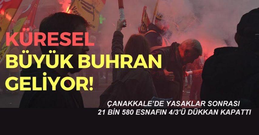 EKONOMİK BUHRAN KAPIDA..