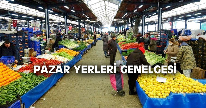 PAZAR YERLERİ GENELGESİ