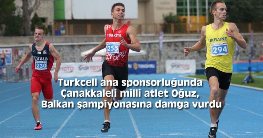 Balkan şampiyonasına damga vurdu