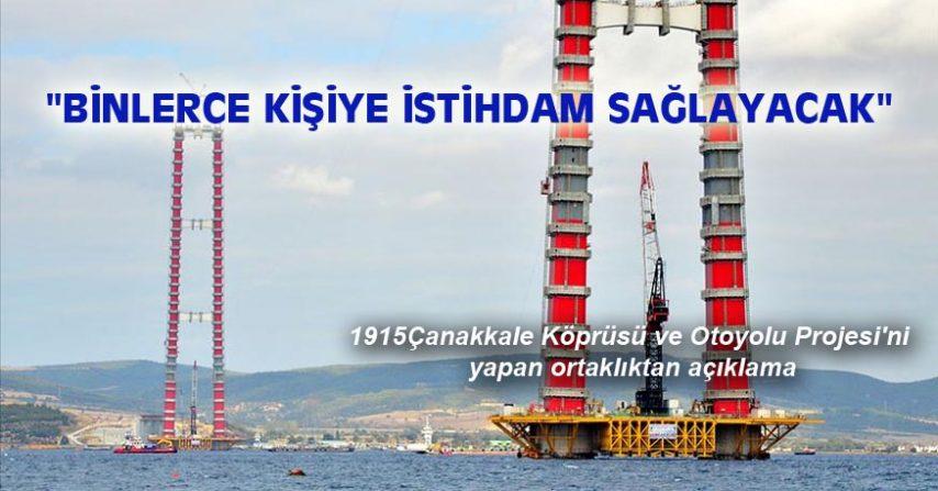 """""""BİNLERCE KİŞİYE İSTİHDAM SAĞLAYACAK"""""""