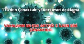 VAKALARIN EN ÇOK ARTTIĞI 5 İLDEN BİRİ ÇANAKKALE!