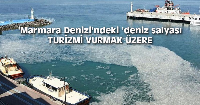 MARMARA DENİZİ'NDEKİ 'DENİZ SALYASI' TURİZMİ VURMAK ÜZERE