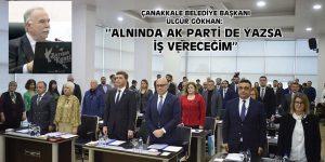 ÜLGÜR GÖKHAN: ''ALNINDA AK PARTİ DE YAZSA İŞ VERECEĞİM''